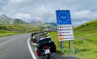 El motorista almeriense que recorre Europa