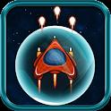 Spaceship Fighter Jet 2D icon