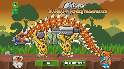 Robot Ankylosaurus Toy War 3.7.1 screenshots 2