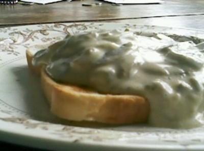 Creamed Mushrooms (sour Cream) Recipe