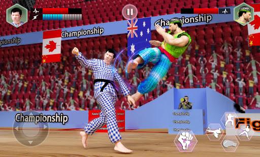Karaté Roi Combattant: Kung Fu 2018 finale Lutte  captures d'écran 1