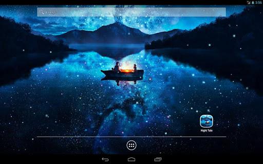 Night Tale Free Live Wallpaper скачать на планшет Андроид