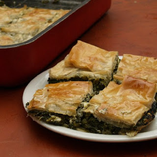 Greek Spinach Pie Without Eggs Recipes