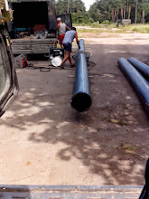Photo: Труба ПНД под прокол д.315мм