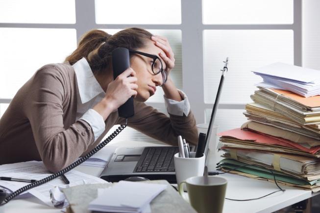 stres kerja di pejabat