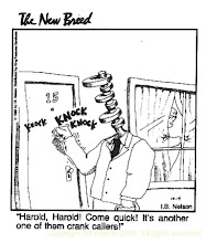 """Photo: Drawn for King Features Syndicate's """"The New Breed"""". I was a contributor to the New Breed from 1989, when it began, until 2002 or so."""