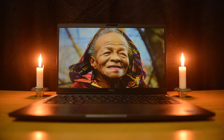 As Covid-19 regulations prevented mass attendance of veteran actress Mary Twala's funeral, it was was live-streamed on July 9 2020.
