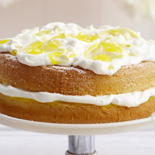 Layered Lemon Sponge Cake
