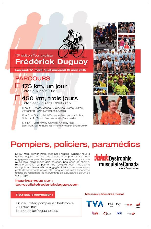 13e Édition Tour Cycliste Frédérick Duguay 2015
