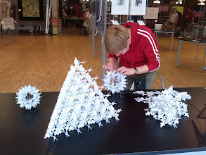 Photo: 224 pieces in order, by Anne Rudanowski.