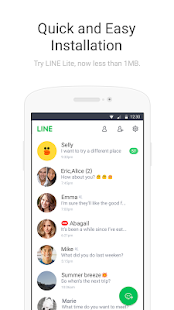 LINE Lite: Free Messages- screenshot thumbnail