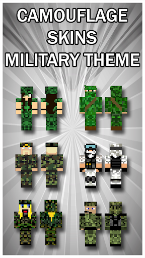 Camouflage Skins For Minecraft PE 1.0 screenshots 2