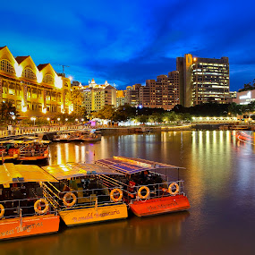 Boats by Richard Amar - City,  Street & Park  Neighborhoods