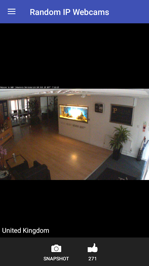 Random IP Webcams: Live World Video Streaming- screenshot