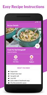 Crock Pot Recipes: Crockpot Slow Cooker Recipes - náhled