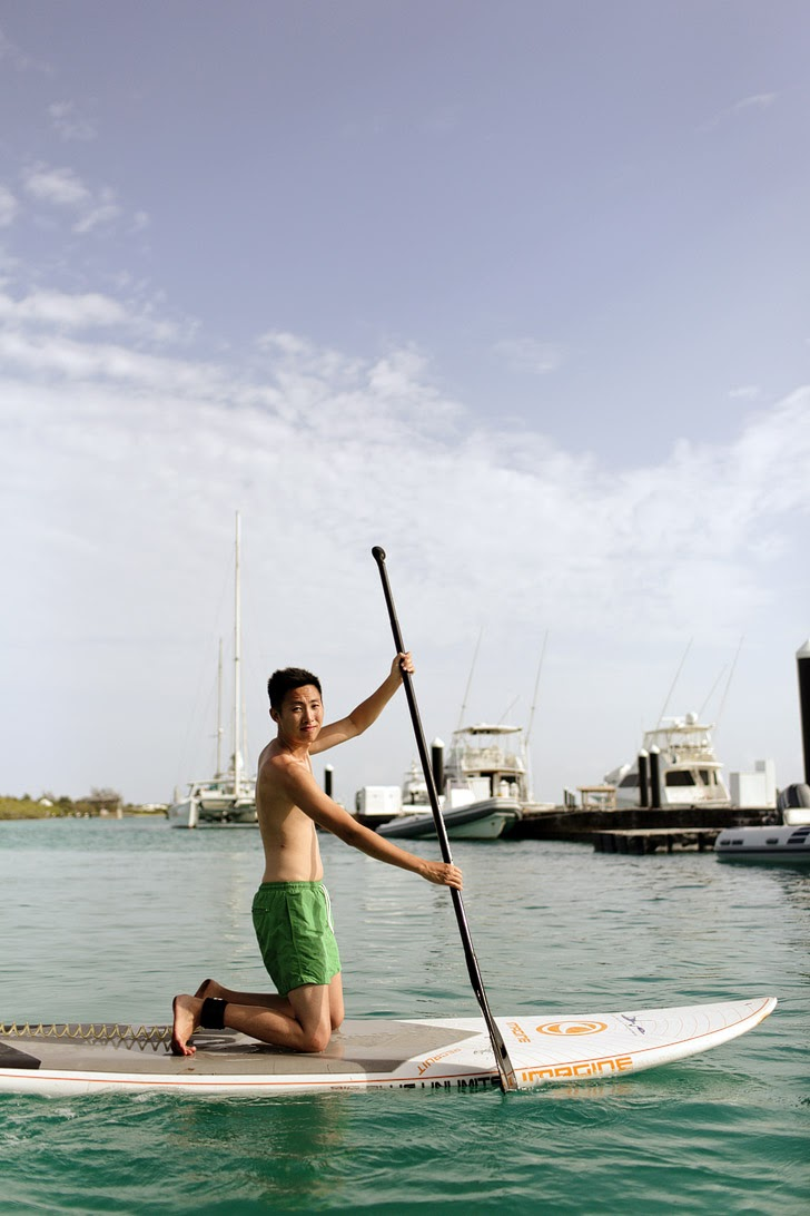 Stand Up Paddle Boarding (Best Things to Do in Turks and Caicos).
