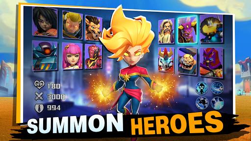Code Triche Clash of Leagues: Heroes Rising  APK MOD (Astuce) screenshots 3