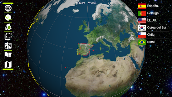 mapa mundi 3d Earth 3D   Aplicaciones en Google Play mapa mundi 3d