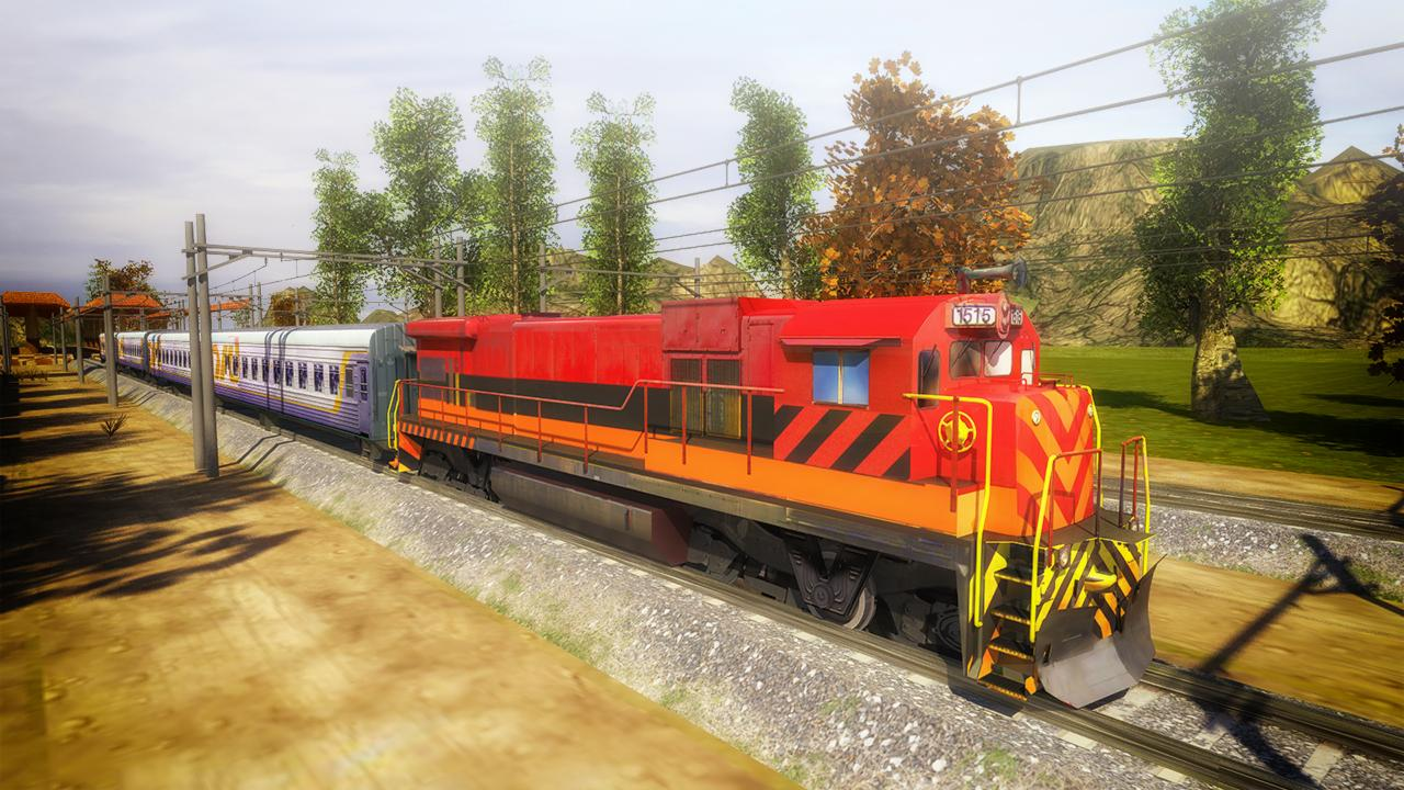 Train Simulator 3D- screenshot