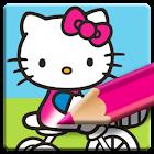 Hello Kitty Libro para Colorear y Dibujar icon