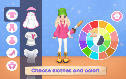 Fashion Dress up games for girls. Sewing clothes 5.0.11 screenshots 1