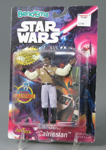Action figure | card:Lando Calrissian | Star Wars | The Power of the Force