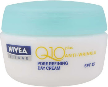 Nivea Visage Q10 Plus Pore Refining Day Cream - Spf15, 50ml