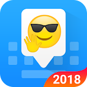 Facemoji Emoji Keyboard - Cute Emoji,Theme,Sticker