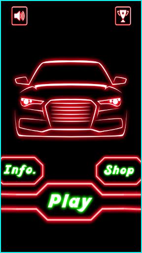 Glow Car Racing