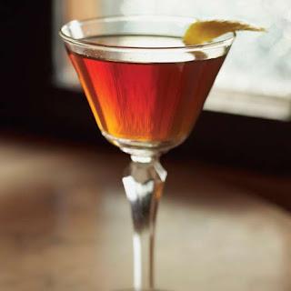 Classic Manhattan Cocktail.