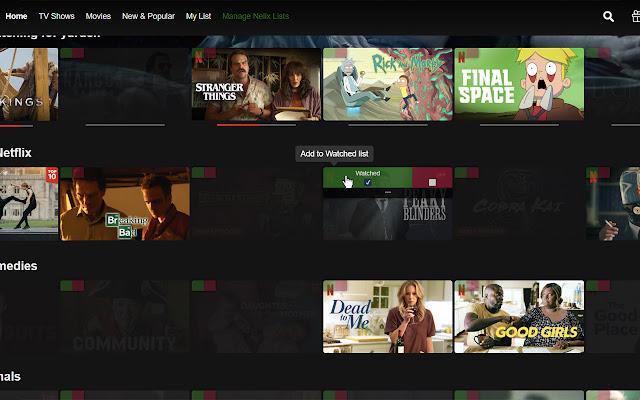 Nelix - Control Your Netflix Feed