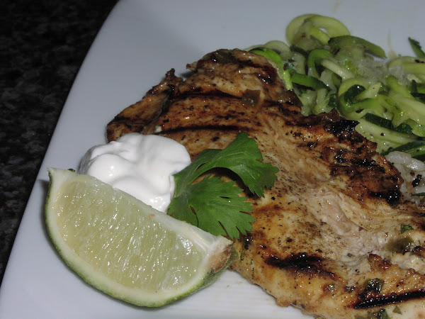 Grilled Mexican Chicken Breast Recipe