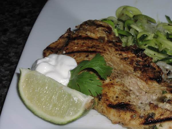 Grilled Mexican Chicken Breast