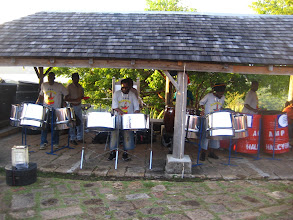 Photo: Steel Band.