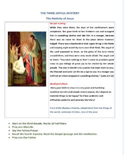 Pray the Rosary - náhled