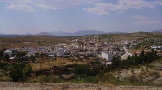 Vista general de la pedanía de Los Cerricos.
