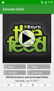The Feed - Libsyn Podcasting- screenshot thumbnail