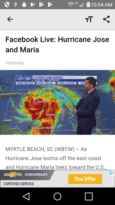WBTW News - Myrtle Beach, SC - Android Apps on Google Play