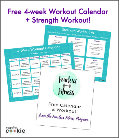 Get your free workout calendar + workout!