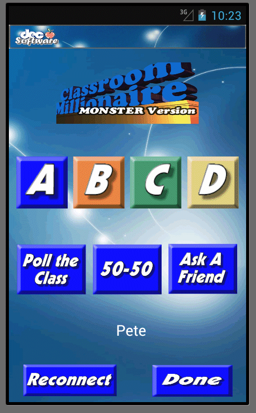 DEC Software-Ed'l Game Buzzer- screenshot
