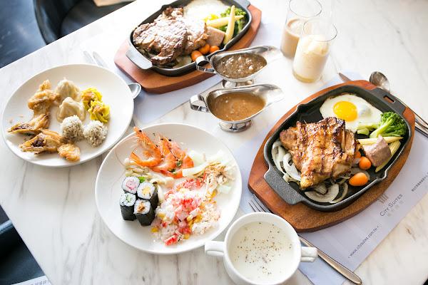 高雄 城市商旅真愛館 魅麗海西餐廳 12/7新開幕!排餐+吃到飽沙拉吧!