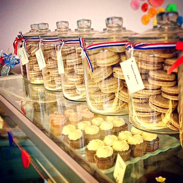 Miette's famous macarons.