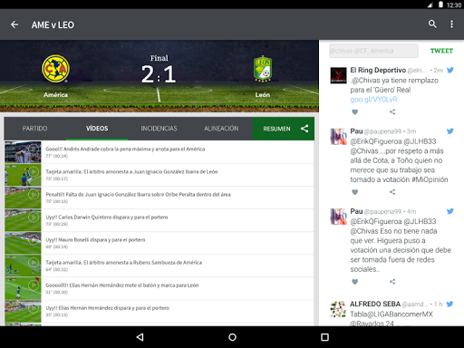 TUDN screenshot 9