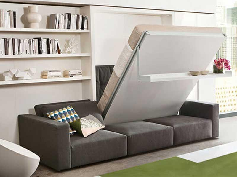 Giường thông minh giúp tiết kiệm nhiều diện tích