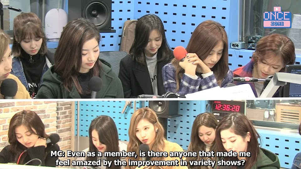 FULL ENG SUB 171110 SBS Power FM 'Choi hwajung's Powertime' with TWICE 30-2 screenshot