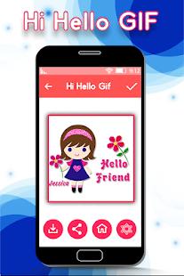Hi Hello GIF for PC-Windows 7,8,10 and Mac apk screenshot 4
