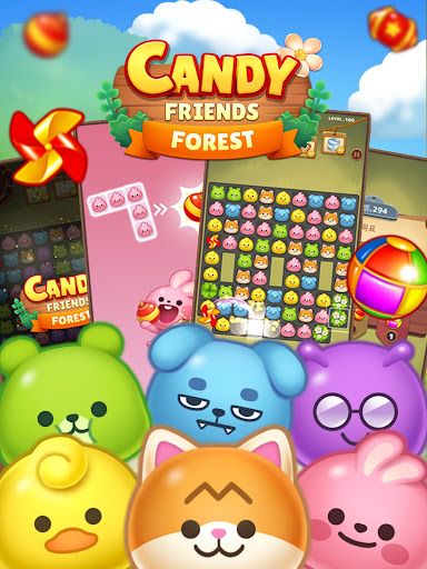 Candy Friends Forest : Match 3 Puzzle 1.1.4 screenshots 10