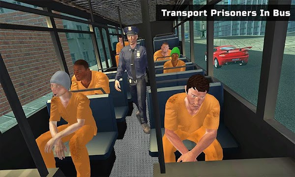 US Police Prison Bus Transport - screenshot