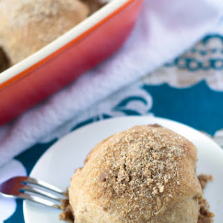 Double Stuffed Cinnamon Crumb Buns