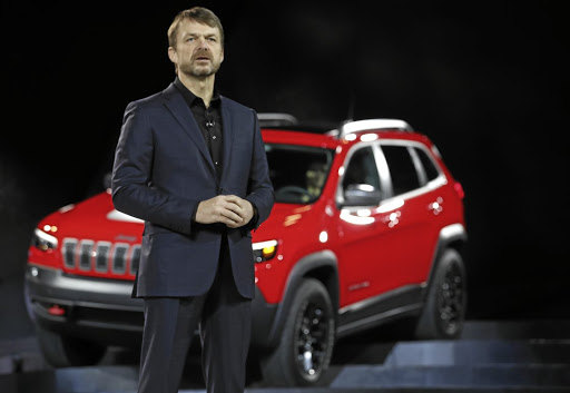 In driving seat: Jeep chief Mike Manley introduces the 2019 Jeep Cherokee at the North American International Auto Show in Detroit in January. He is now CEO of the group. Picture: REUTERS /JONATHAN ERNST